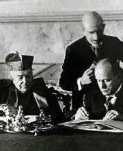 mussolini and the pope