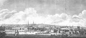 A South View of BIRMINGHAM from the Summer House, Cheapside, Bordsley.